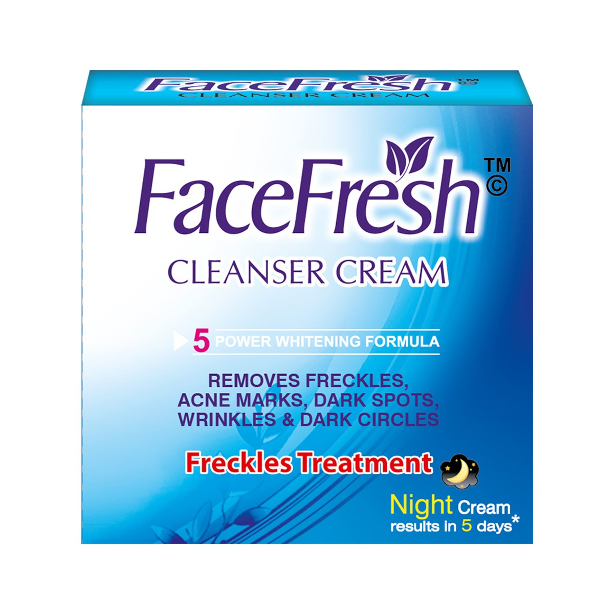 Face Fresh Cleanser Cream (Large)